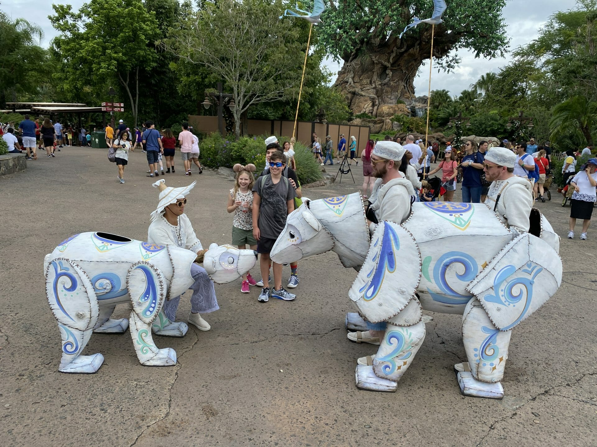 Winter Wonderland and Merry Managerie at Animal Kingdom