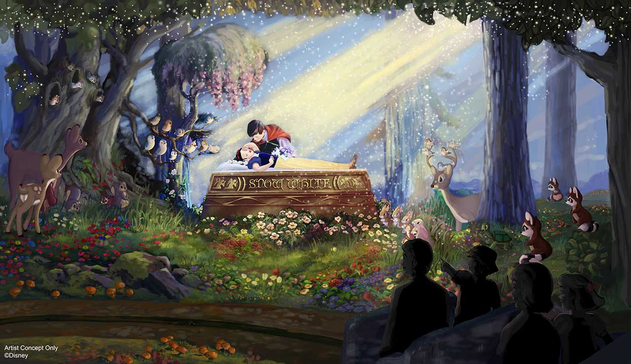 Disneyland's Snow White's Scary Adventures Getting a Makeover
