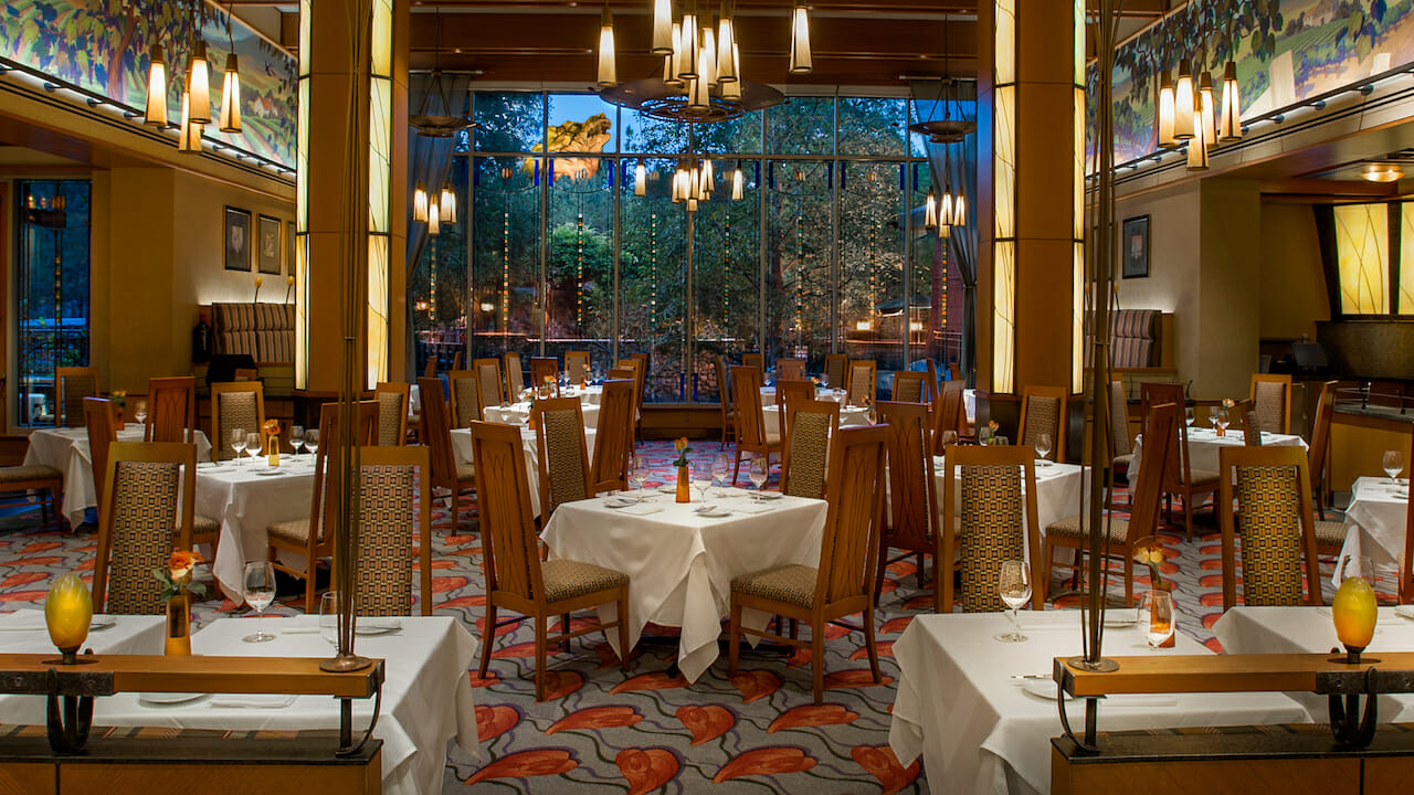 Napa Rose and Storytellers Cafe Reopening at Disney's Grand Californian Hotel & Spa