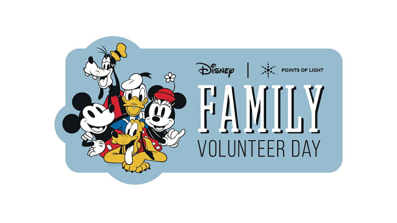 Disney Family Volunteer Day