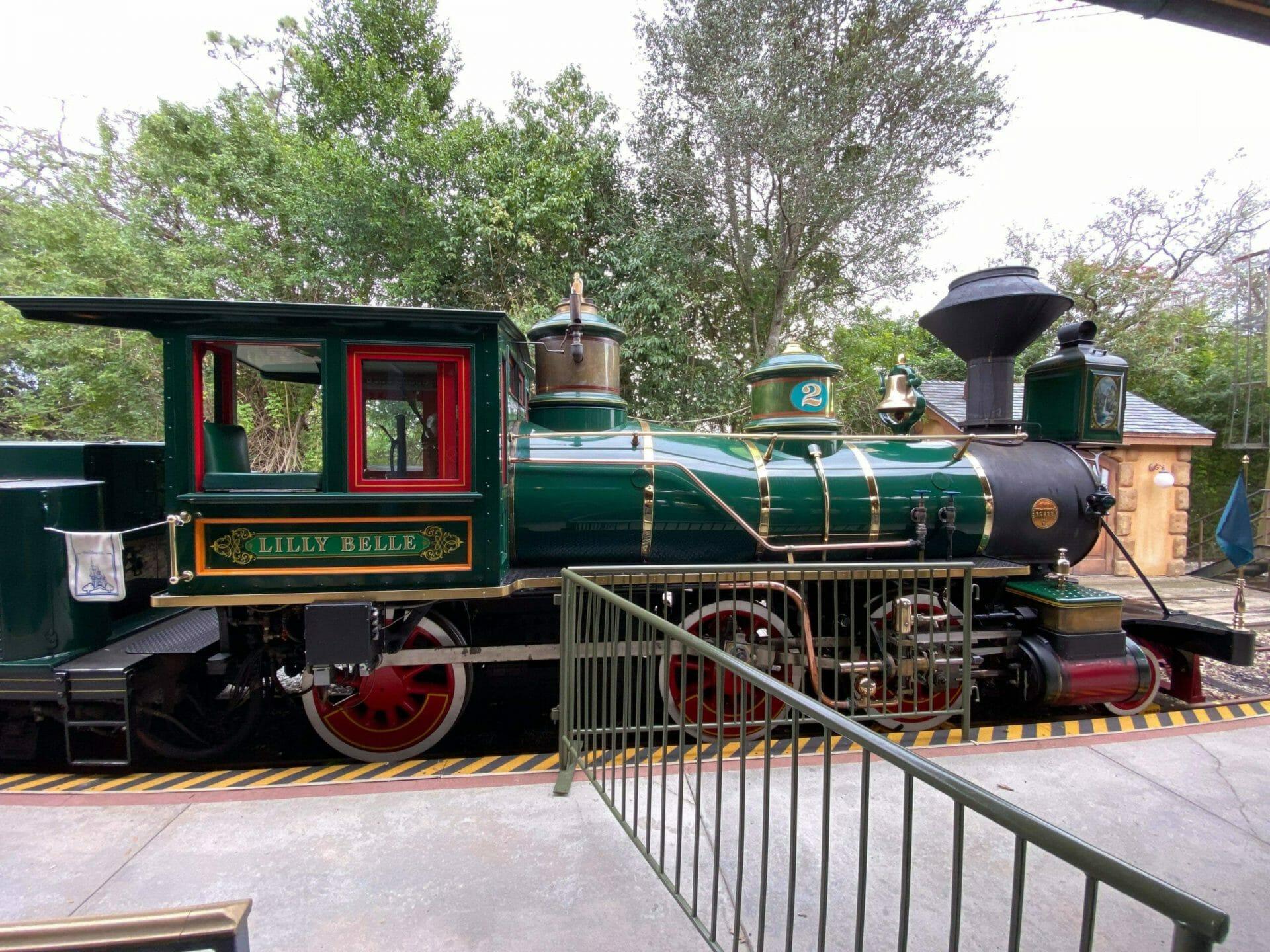 Magic Kingdom Train Photo Opp in Fantasyland