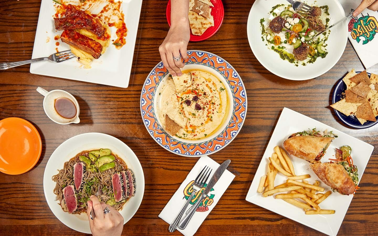 Confisco Grille New Menu at Universal's Island of Adventure