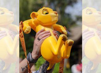 Lion King Simba Popcorn Bucket