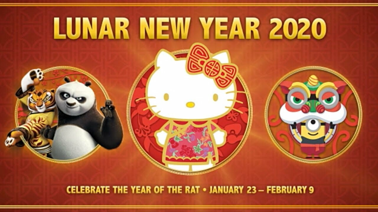 "Universal Studios Hollywood Celebrates Lunar New Year and the ""Year of the Rat"""