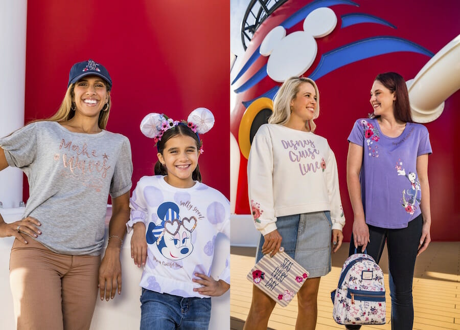 New Disney Cruise Line Sail Away Minnie Collection