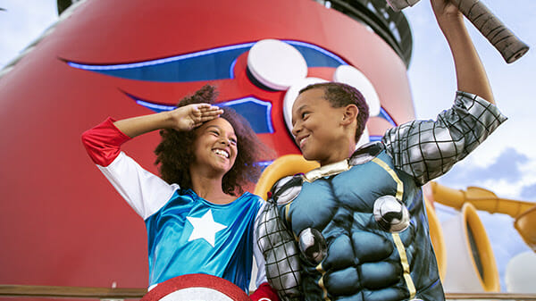 Disney Cruise Line Announces Marvel Day at Sea and Star Wars Day at Sea to Return in 2022