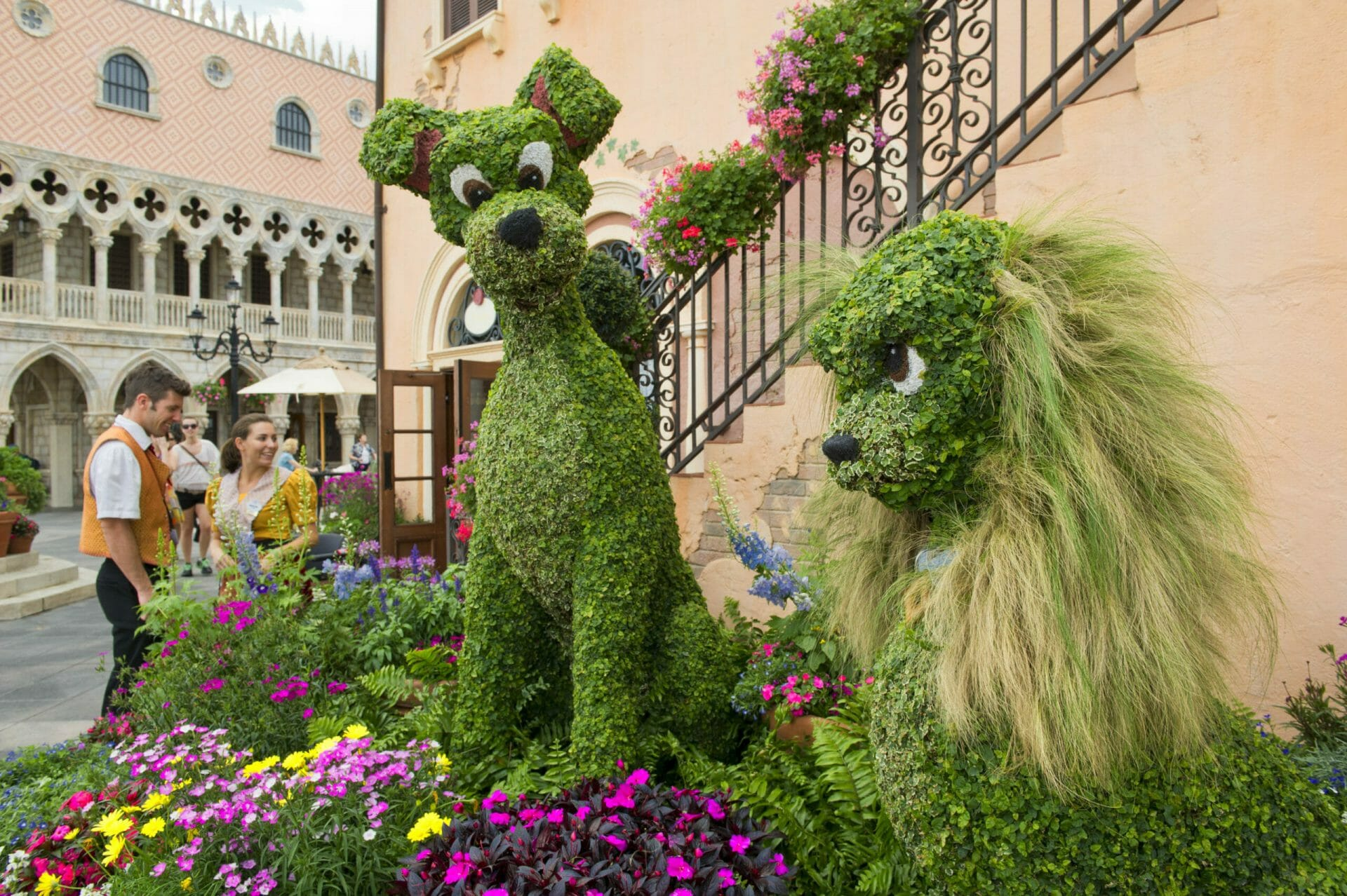 2021 Taste of Epcot International Flower & Garden Festival-New Global Gardens