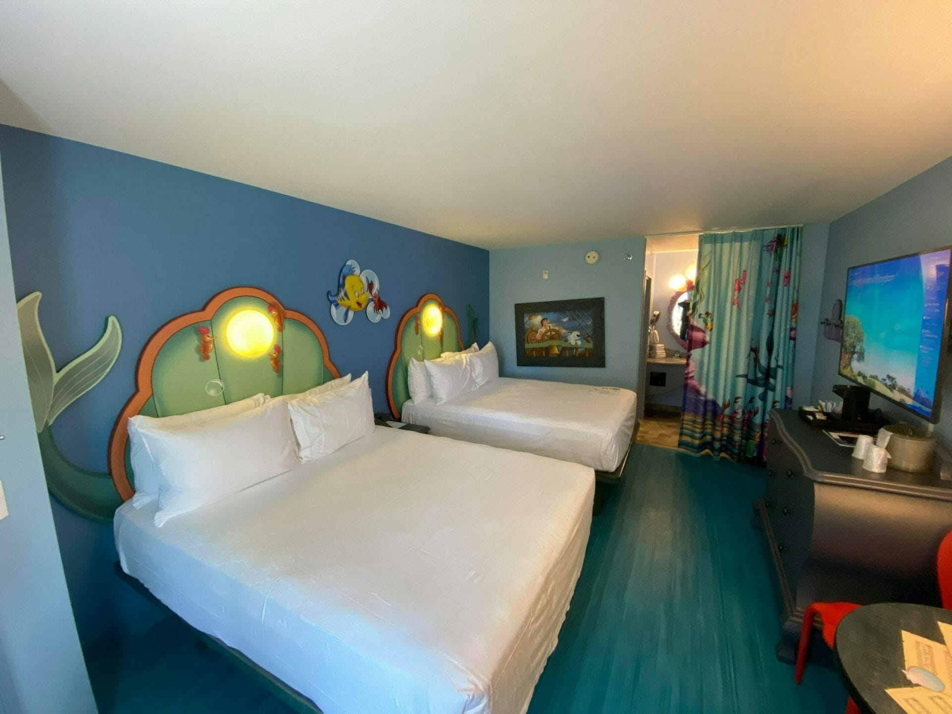 Art of Animation Little Mermaid  Renovated Rooms