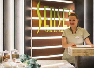 Senses Spa & Salon Disney Cruise Line