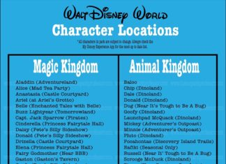 Walt Disney World Characters