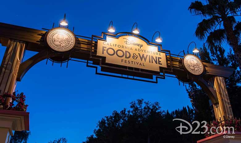 D23 Presents Disney California Adventure Sip and Stroll