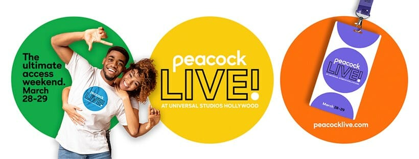 Peacock Live! the First-Ever 2 Day Fan Festival at Universal Hollywood