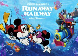 Mickey and Minnies runaway railway fastpass