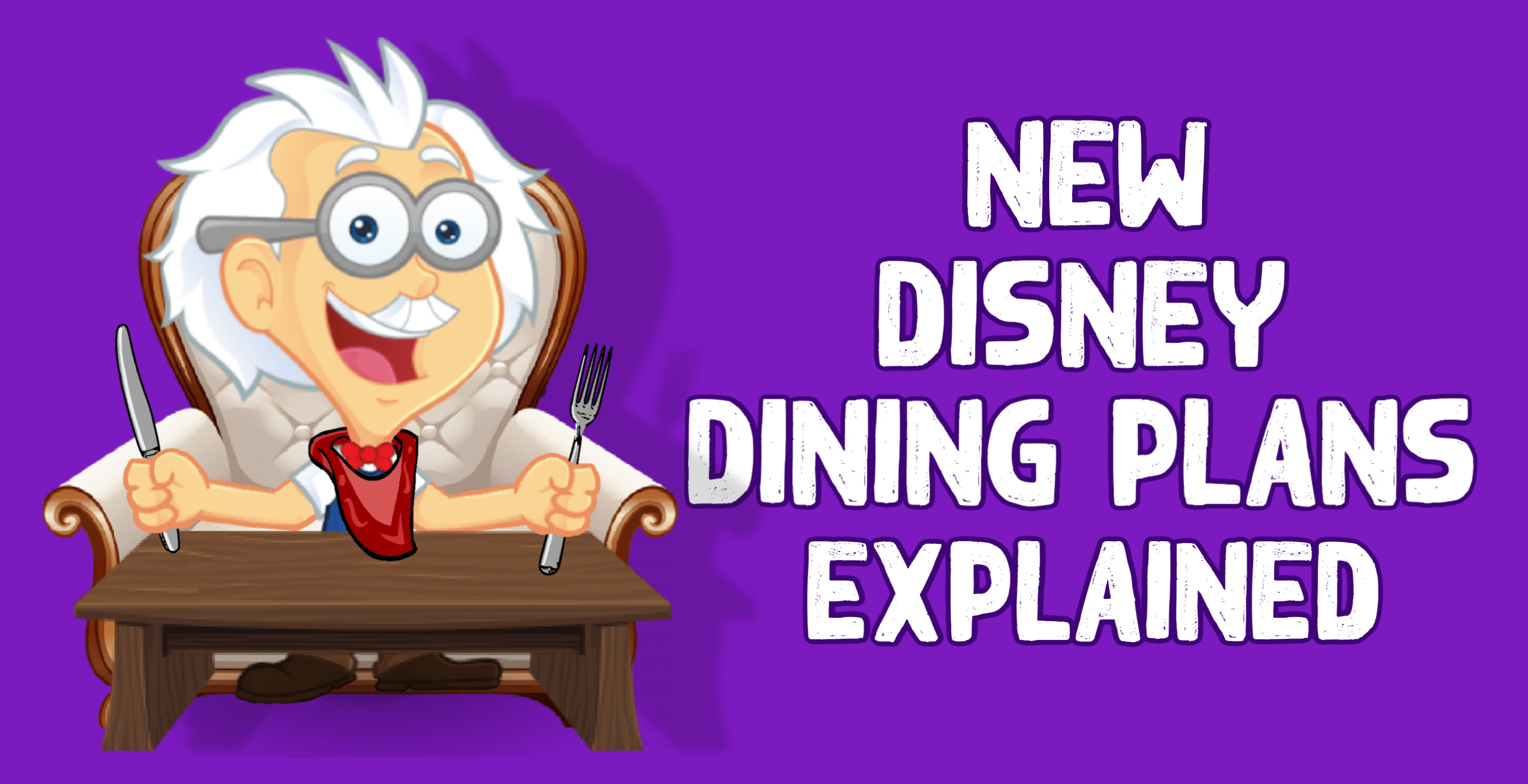 Disney Dining Plans Comparison Chart
