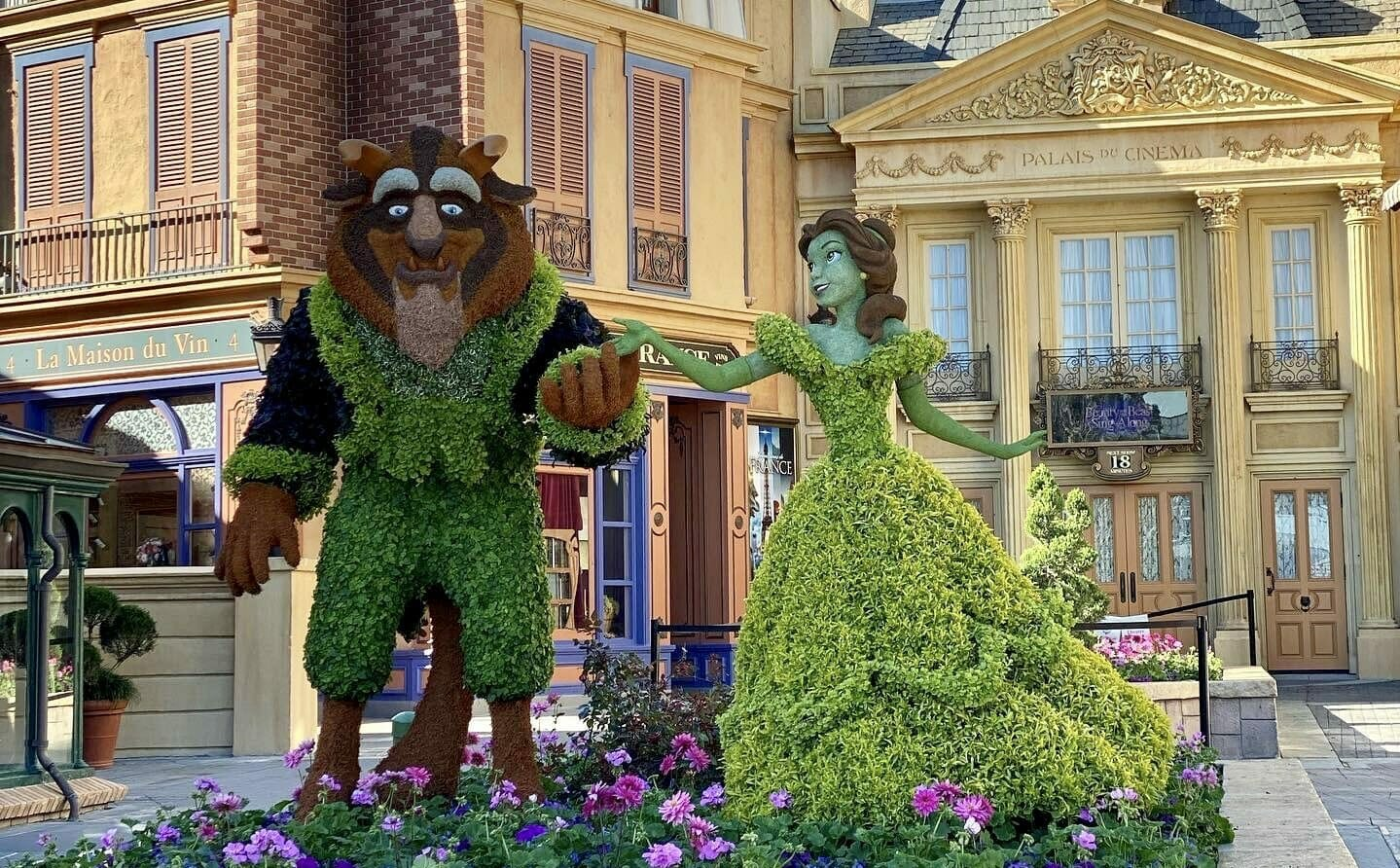 Flower and Garden Festival Topiaries