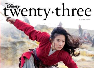 D23 cover Mulan