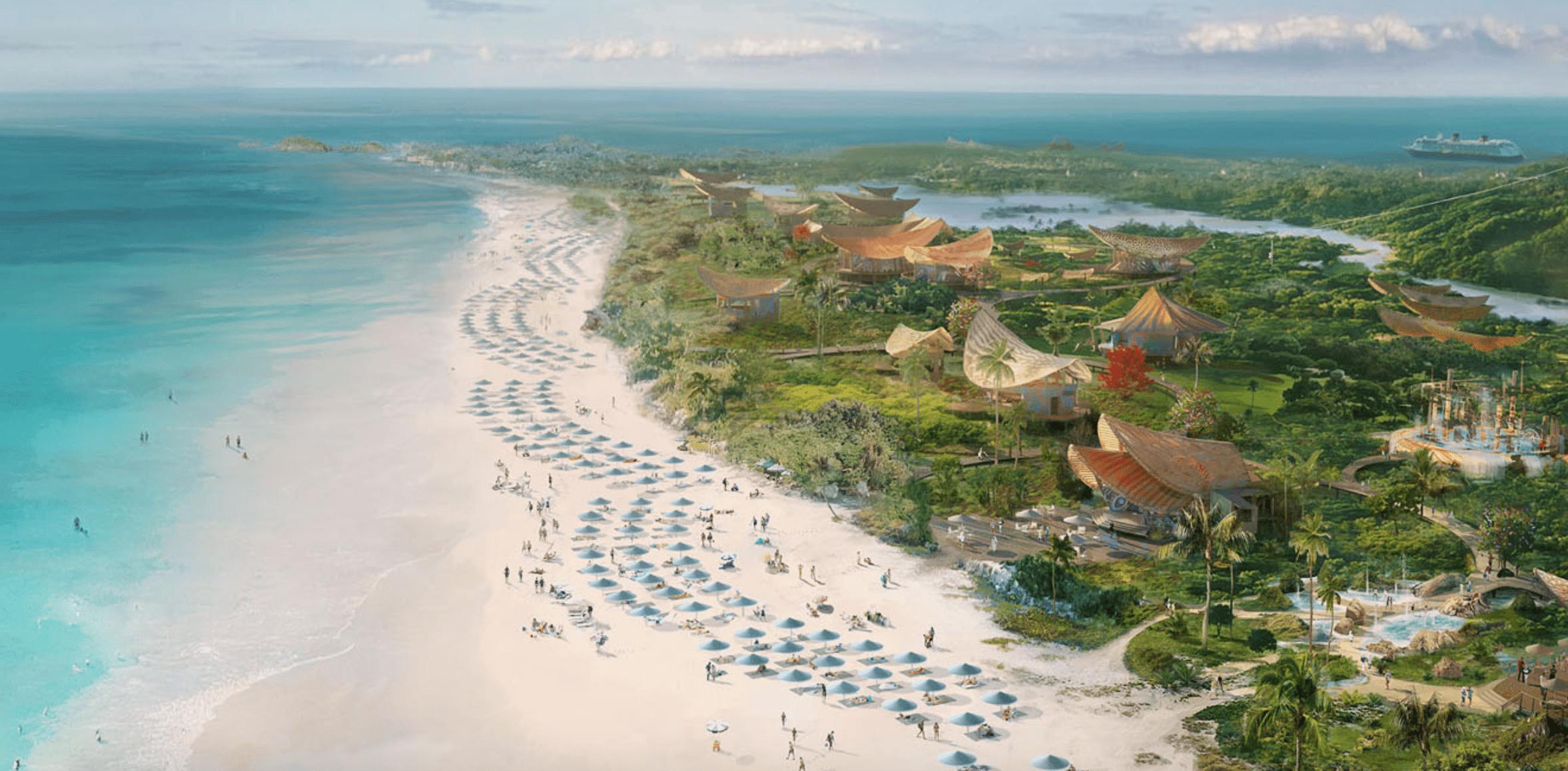 Disney Cruise Line Lighthouse Point Bahamas