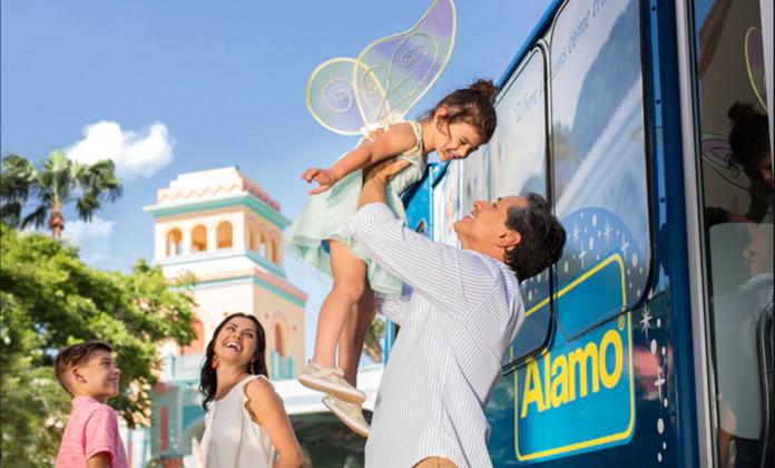 Renting a car at Walt Disney World