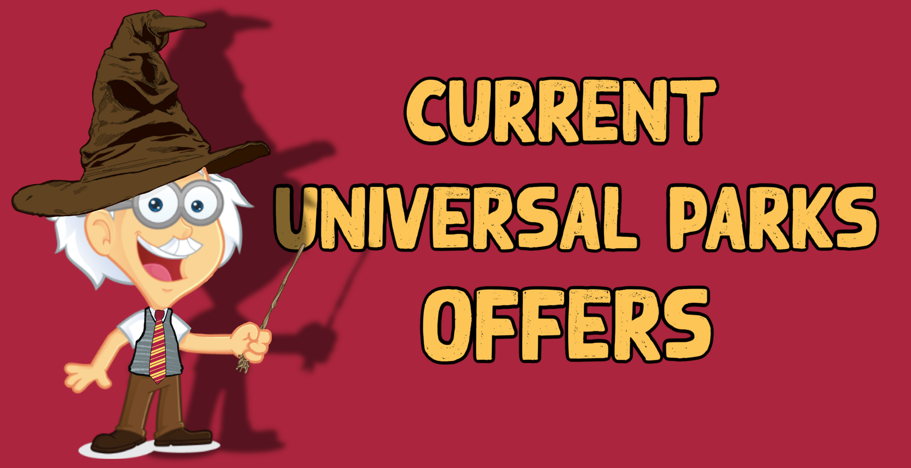 Current Universal Parks Offers