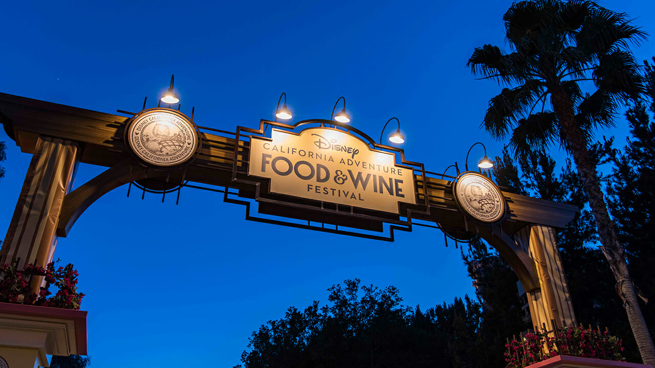 Disney California Adventure Food & Wine Festival Guide