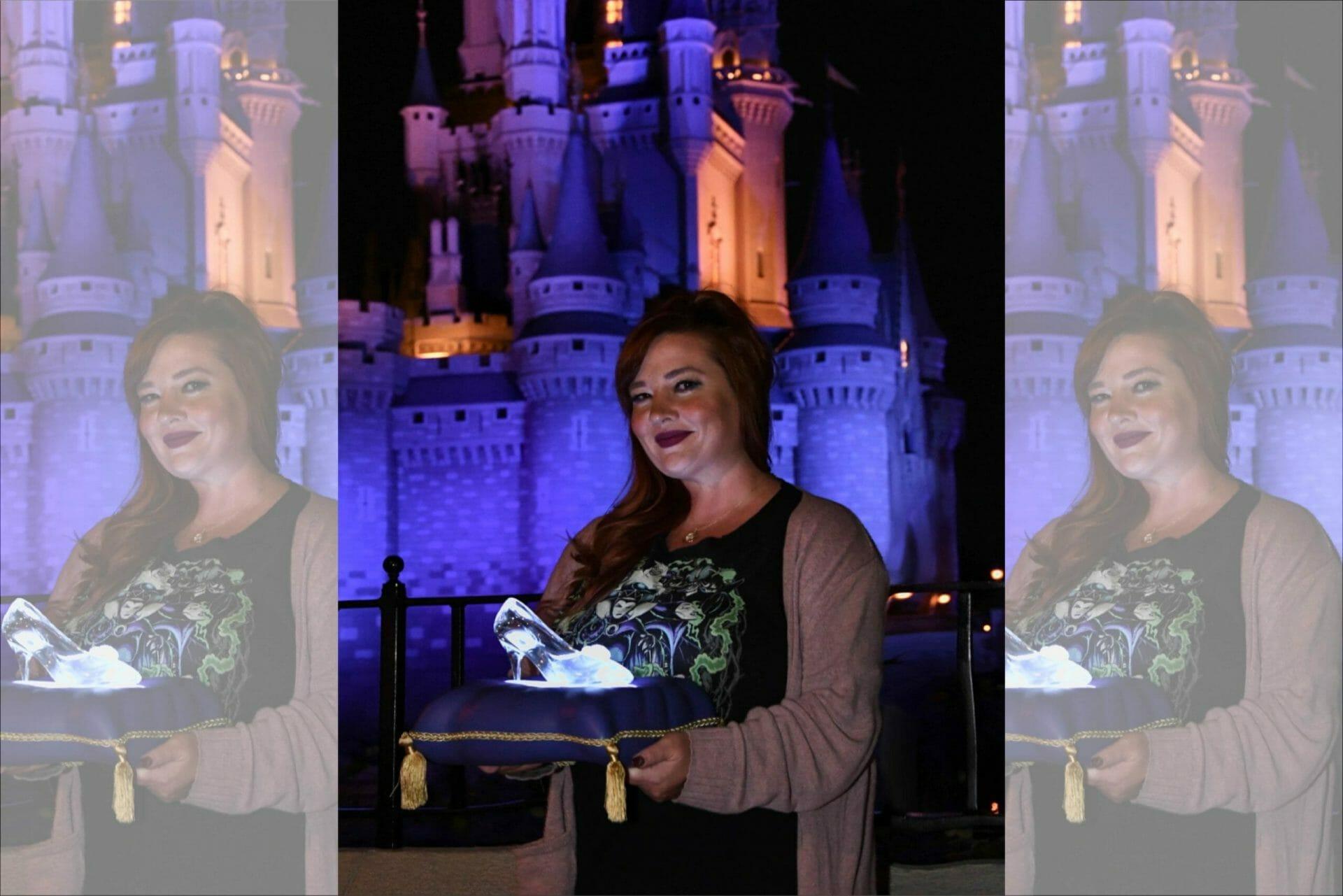 Cinderella slipper photopass