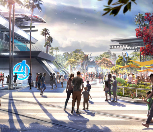 A Closer Look at Avengers Campus