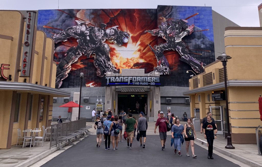 Universal Studios Hollywood  Transformers