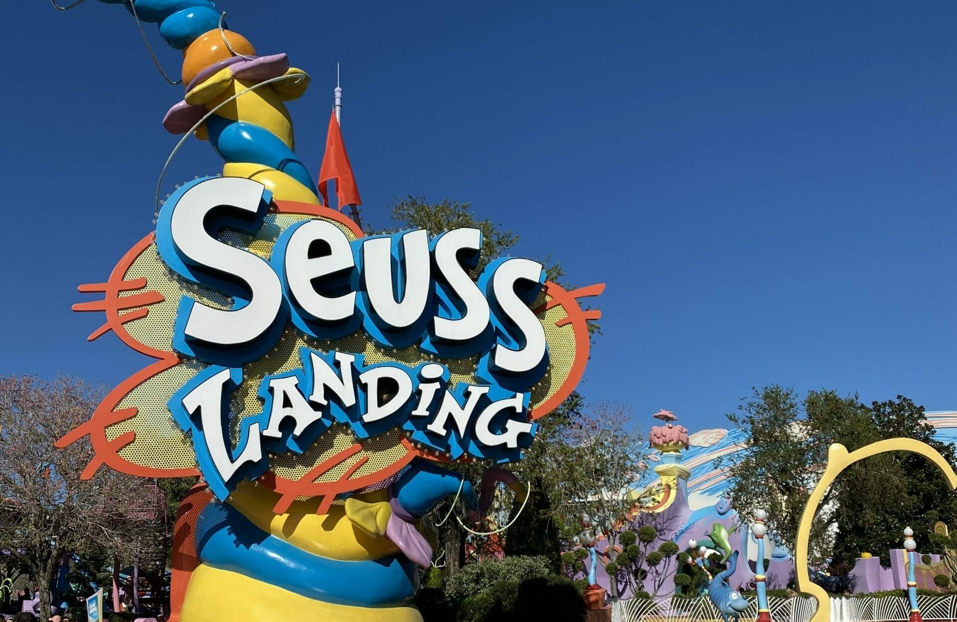 Seuss Landing at Universal Orlando