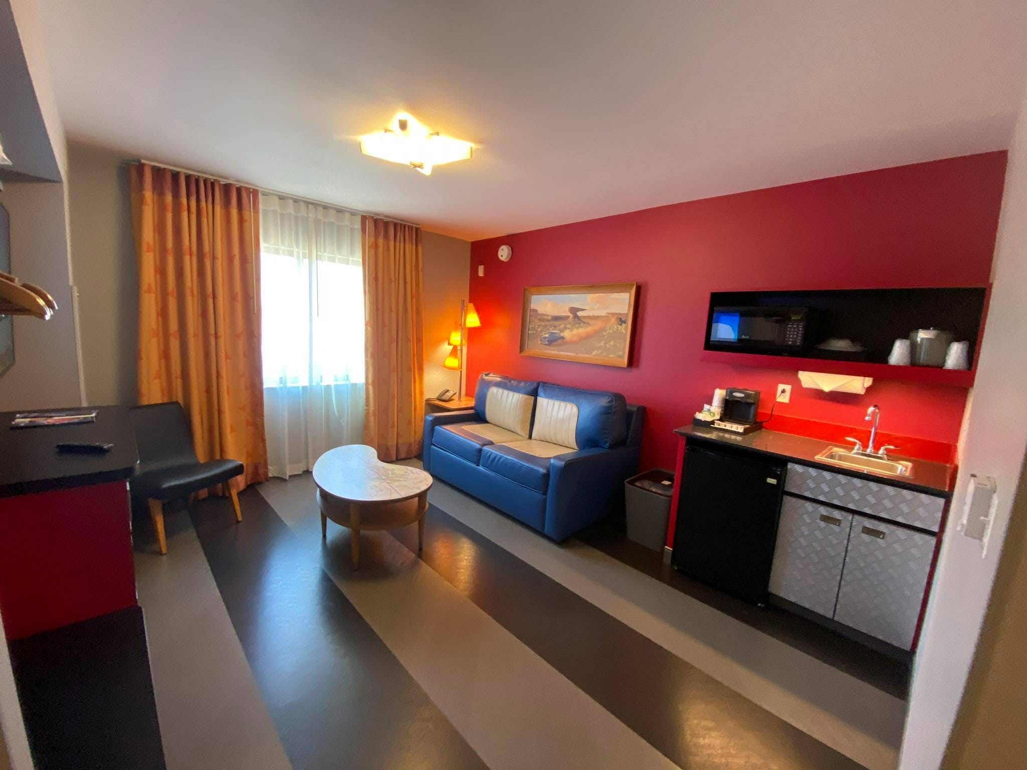 Refurbished Cars Suite at Disney's Art of Animation Resort