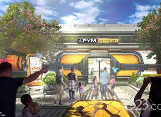 Pym Test Kitchen Avengers Campus Disney California Adventure