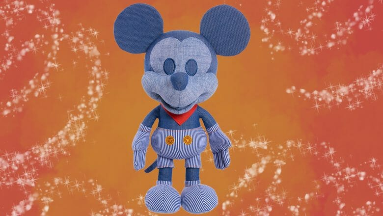 D23 Early Acess to Collectable Train Conductor Disney Mickey Mouse Plush