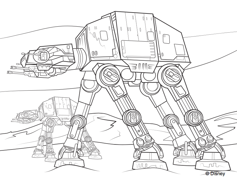 - Star Wars Coloring Pages To Print Or Do Digitally - Theme Park Professor
