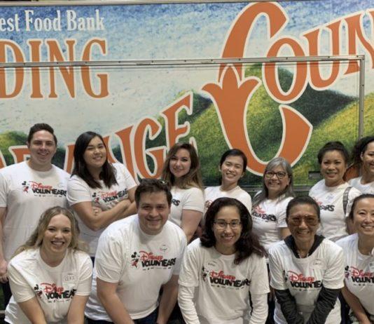 Disneyland Resort Food Donations