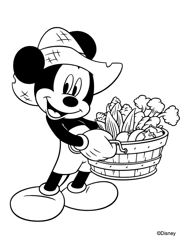 Mickey Friends Coloring Pages To Print Or Do Digitally Theme Park Professor
