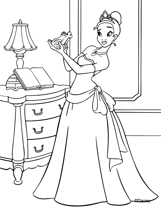 - Disney Princess Coloring Pages To Print Or Do Digitally - Theme Park  Professor