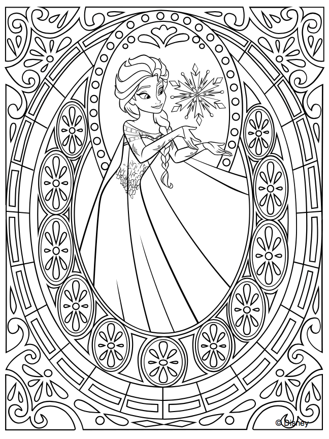 Disney Princess Coloring Pages to Print or Do Digitally ...