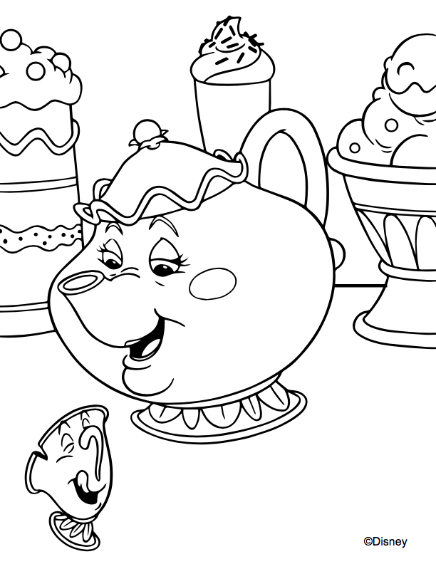 Disney Princess Coloring Pages To Print Or Do Digitally - Theme Park  Professor
