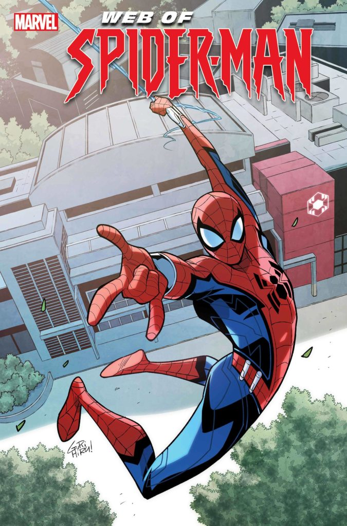 Spider-Man comic in Avengers Campus