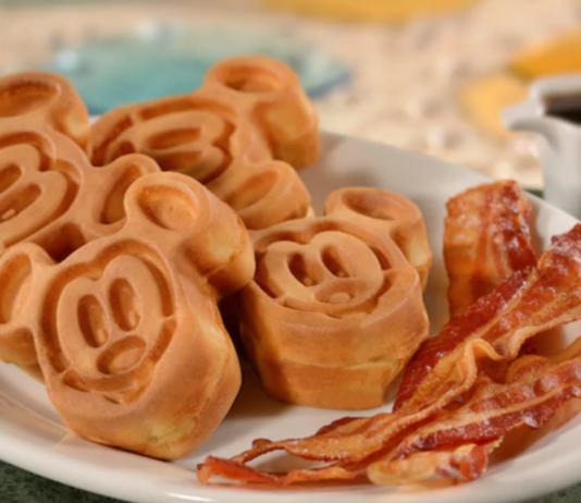 Breakfast at Magic Kingdom