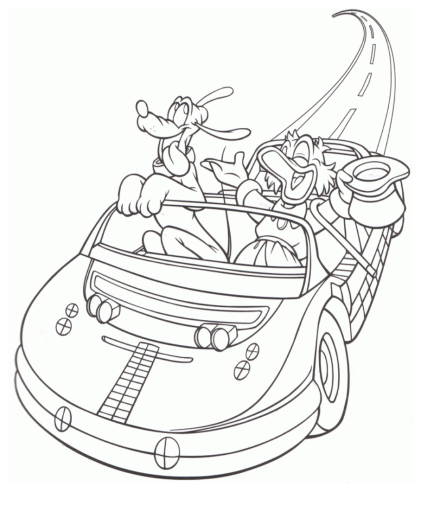 - Disney Parks Coloring Pages - Theme Park Professor