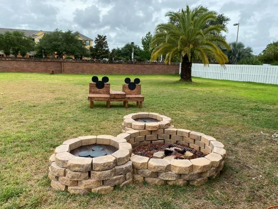 This Disney Fan Brings Some Magic to His Backyard