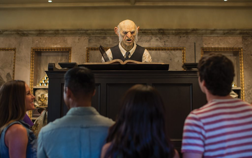 Gringotts at The Wizarding World of Harry Potter