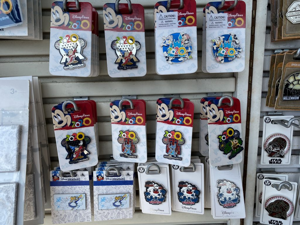 Disney Pin Collecting and Trading