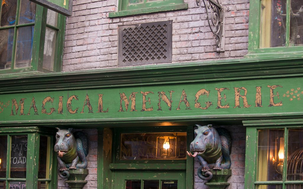 Magical Menagerie at The Wizarding World of Harry Potter