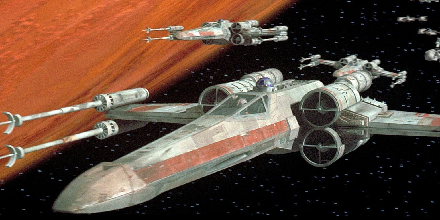 Star Wars X-Wing Scenes Synced Up to Top Gun Danger Zone
