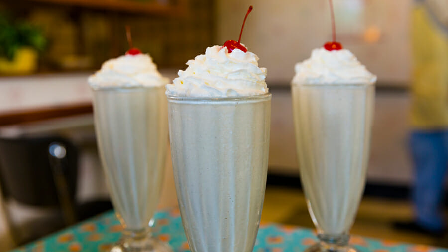 Recipe: Peanut Butter & Jelly Milk Shake from 50's Prime Time Café