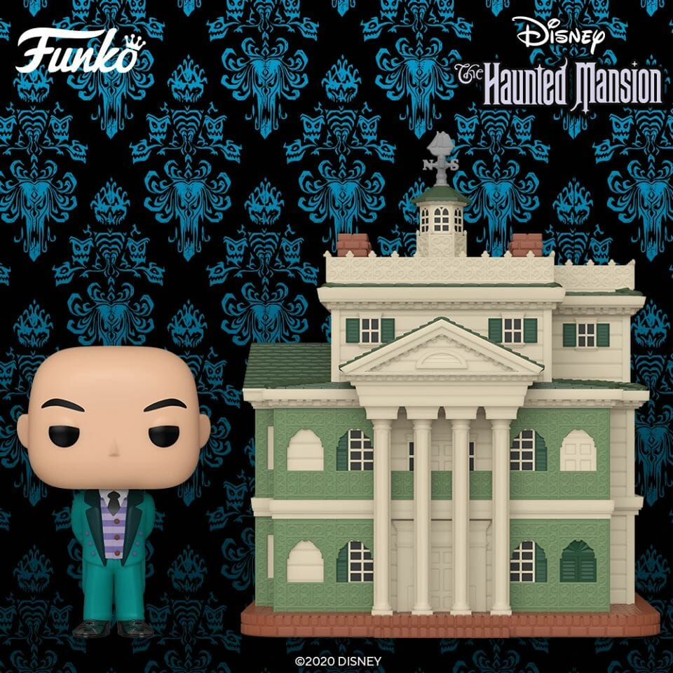 Haunted Mansion with Butler Pop