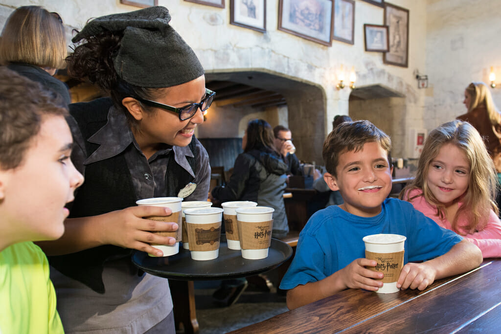 Hot Butterbeer Now Available Year-Round in The Wizarding World of Harry Potter at Universal Orlando Resort