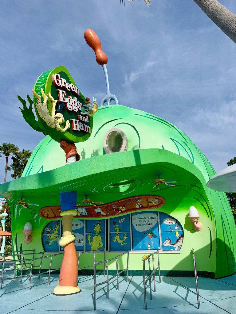 Green Eggs and Ham Seuss Landing