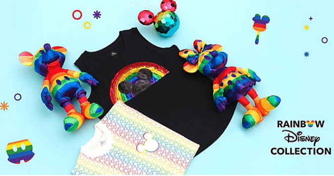 ShopDisney Rainbow Collection